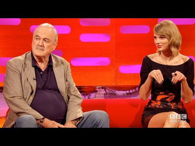 JOHN CLEESE Insults TAYLOR SWIFT's Cat Olivia Benson - The Graham Norton Show on BBC AMERICA