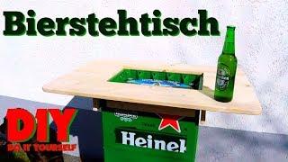 DIY | DO IT YOURSELF | Bierstehtisch - Der Tisch Für Echte Männer