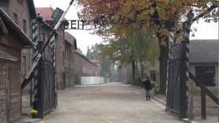 Arbeit Macht Frei (Auschwitz) (Oświęcim) 25.10.2012