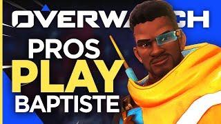Overwatch Pros & Streamers Play New Hero Baptiste!