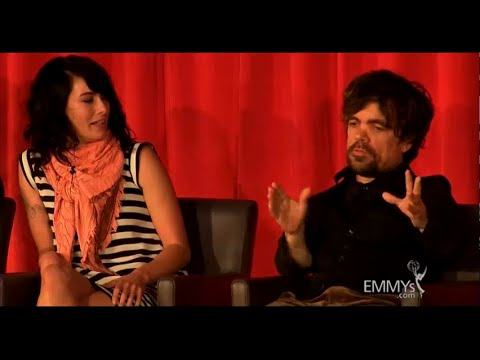 FUNNY! Peter Dinklage & the harmonica band (ENG subtitles) tyrion lannister games thrones GOT