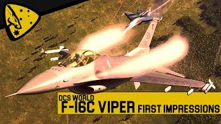DCS World: F-16C Viper | first impressions