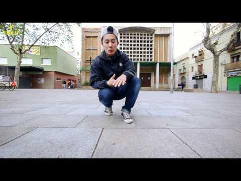 Knee Footwork Variations | Bboy Tutorials | Justroc | Strife.tv video
