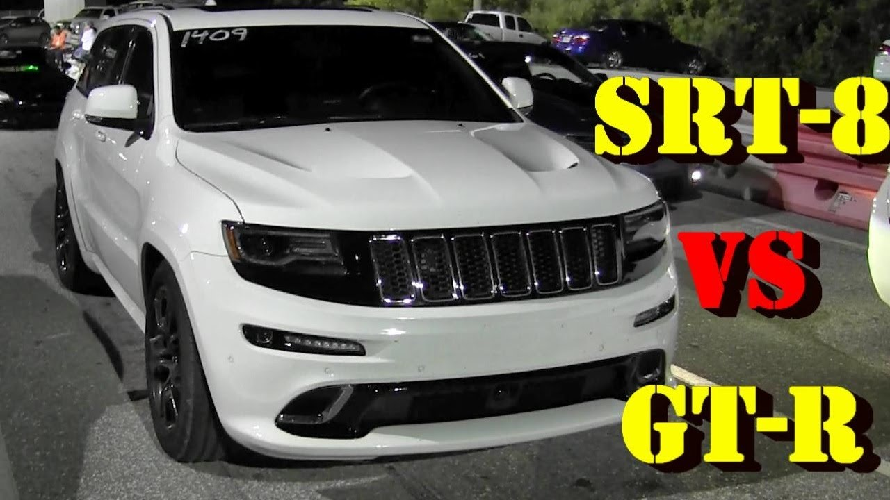 6 4 l srt8 jeep grand cherokee vs tuned gt r 1 4 mile. Black Bedroom Furniture Sets. Home Design Ideas