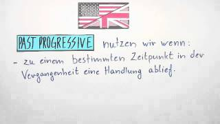 Past Progressive oder Simple Past - Übungsvideo | Englisch | Grammatik