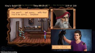 King's Quest III: To Heir Is Human - Walkthough - Turn Manannan Into A Kitty - The Director's Cut