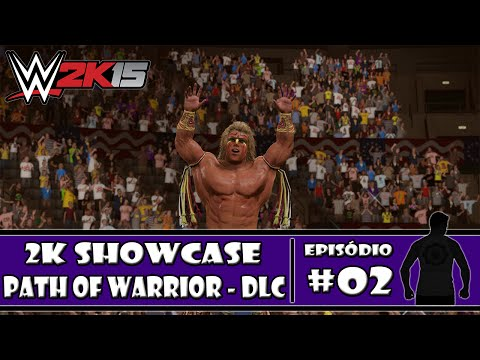 WWE 2K15 (PS4) - 2K Showcase DLC: Path of the Warrior - #02 - PT-BR