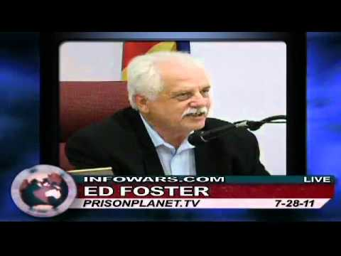 Quartzsite, AZ Mayor Ed Foster on Alex Jones--July 28, 2011 Part 1 of 2