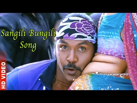 Kanchana Muni-2 Sangili Bungili Song [hd] video