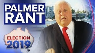 Watch Clive Palmer's explosive rant during interview on Nine | Nine News Australia