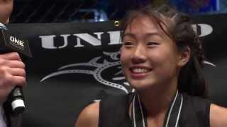 FULL FIGHT UNLOCKED: Angela Lee vs Aya Saber