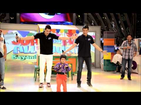 Cha-cha Dabarkads: James Yap, Marc Pingris & Ryzza (eat Bulaga 02 25 2013) video