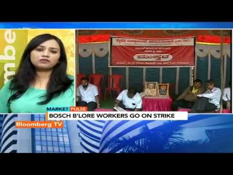 Market Pulse: Bosch Workers On Strike