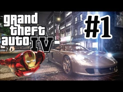 GTA 4 Modded Lets Play Part 1 - Iron Man Mod - PC Very High Settings - Graphics