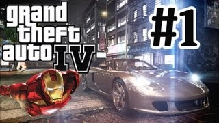 GTA 4 Modded Let's Play Part 1 - Iron Man Mod - PC Very High Settings - Graphics Mods - 1080p