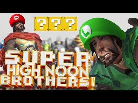 OVERWATCH SUPER HIGH NOON BROTHERS CUSTOM GAMEMODE!