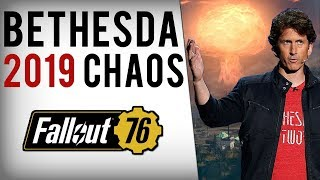 Bethesda Starts 2019 In Chaos - Fallout 76 Breaks, Nuka Dark/Unfair Bans Response & Atomic Shop Mess
