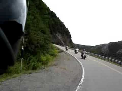 The Cabot Trail with Lee