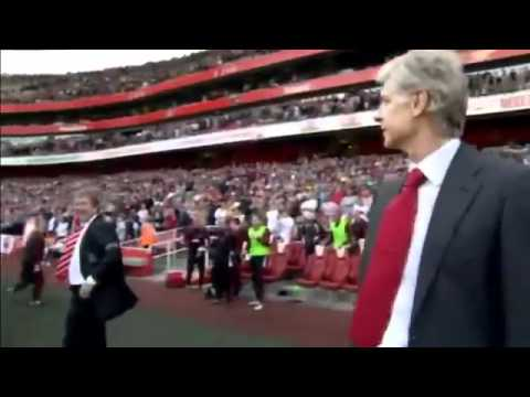 Kenny Dalglish Swears at Arsene Wenger