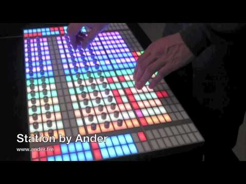 Station MIDI controller by Ander