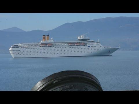 Tο κρουαζιερόπλοιο Costa Neo Classica στο Ναύπλιο