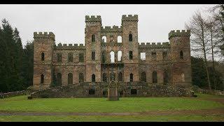 Dangerous Old Castle Exploring! Unknown Car Followed Us Out