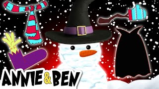 CHRISTMAS vs HALLOWEEN | Dress Up the Snow Man | Funny Baby Games for Kids by Annie and Ben
