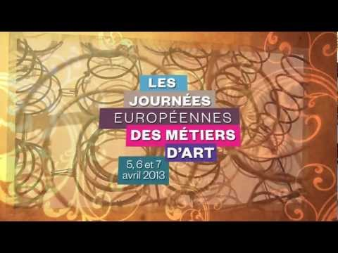 Journes europennes des mtiers d'art 2013