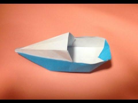 Как сделать пароход из бумаги (двухтрубный схема оригами на)