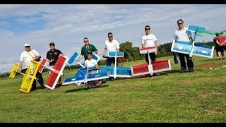 EVOLUTION MODELS FUSION EP RC FUNFLY PLANES - BALLOON POPPING DISPLAY AT SOUTHERN HEADCORN - 2018