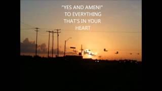 Watch Matt Redman Yes And Amen video