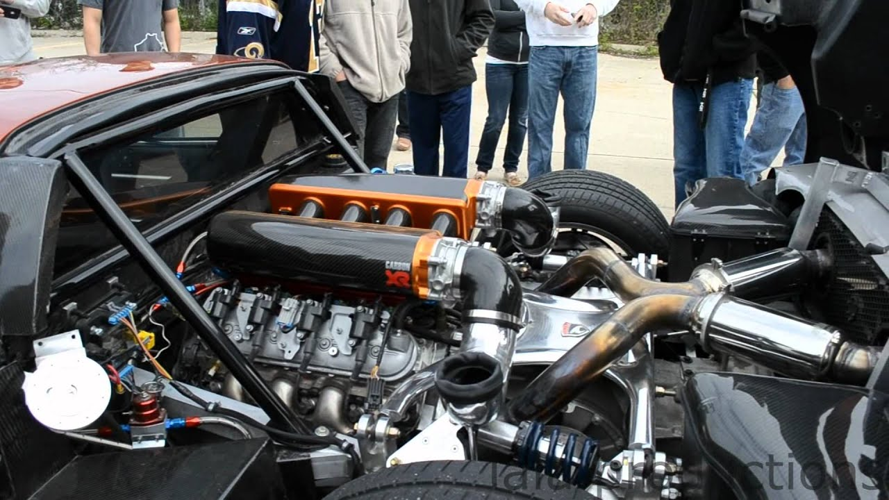 ... F7 Michigan Made Sports Car - Cars and Coffee - 2012 - YouTube