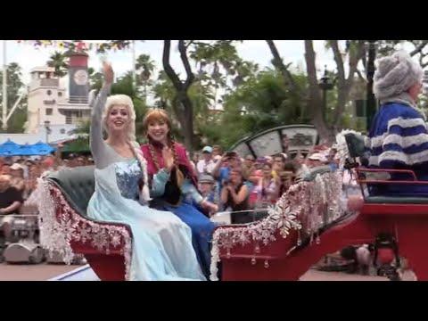 Frozen Royal Wele show parade
