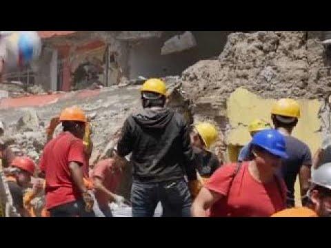 New 6.1 magnitude earthquake hits Mexico