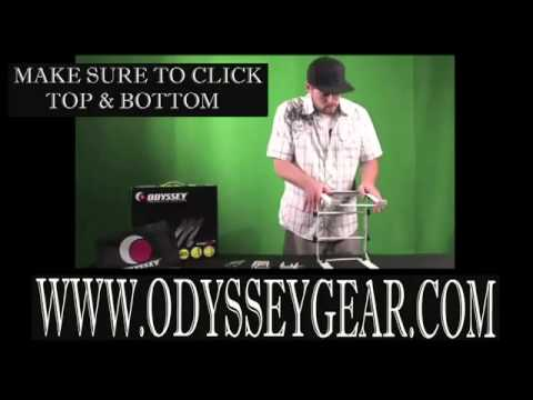 How to use Odyssey LSTANDM DJ Laptop Stand