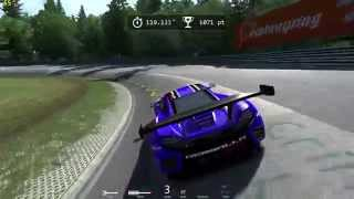 Assetto Corsa R9 280x FPS first nordschleife MClaren MP4 with replay