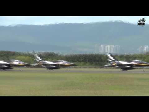 ROKAF T-50 Formation Takeoff @ Mactan Cebu International Airport (SDE)