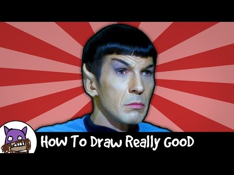 How To Draw Really Good - Spock (Star Wars)