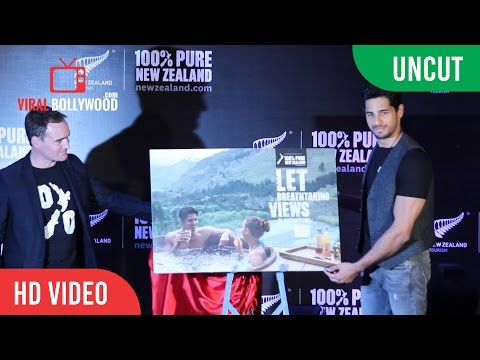 UNCUT - Sidharth Malhotra | Unveiling New Campaign Of New Zealand Tourism