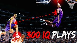 The 13 SMARTEST PLAYS in NBA History (300 IQ!)