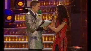Ruslana in the Ukrainian humor TV show Vechirnij 95 Kvartal