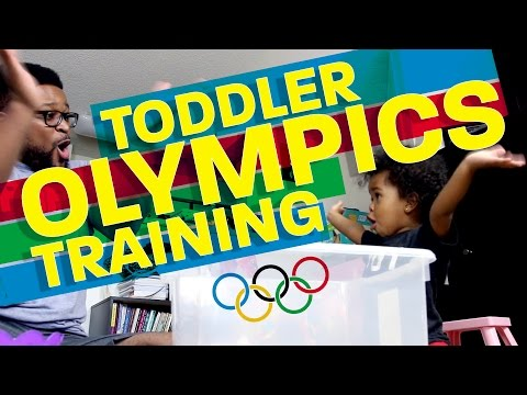 How to Train a Toddler for the Olympics