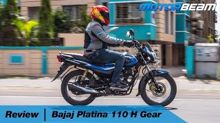 Bajaj Platina 110 H Gear Review - Happy or Highway? | MotorBeam