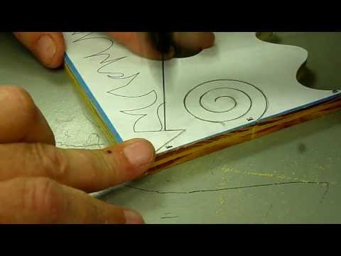 Scroll Saw Cutting for Beginners Pt 2