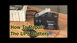 How To Repair The UPS Battery