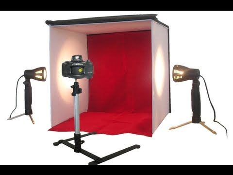 LS Photo Pro Studio Lighting Unboxing