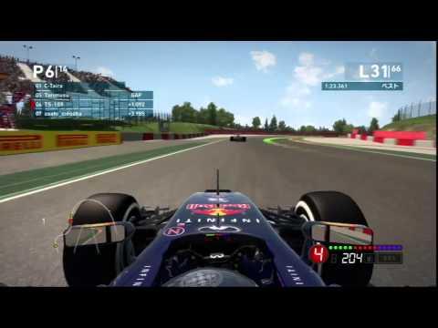 F1 2014 MGT-CUP 第5戦 スペインGP