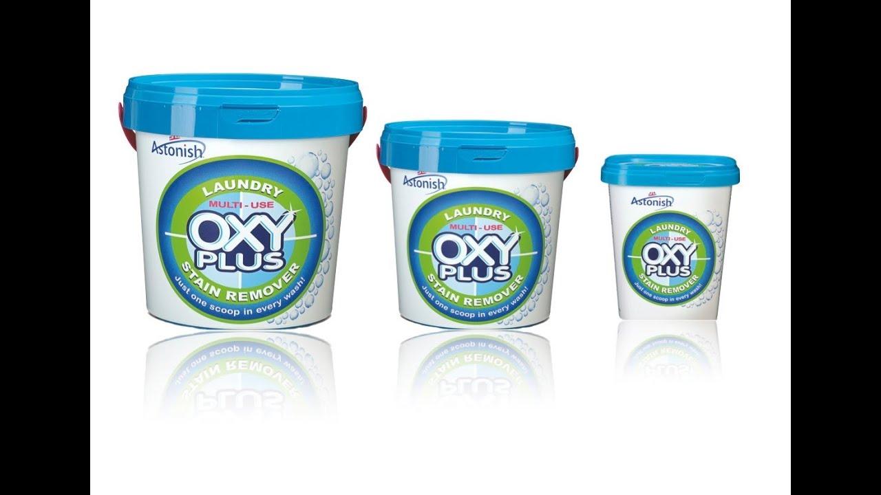 Astonish Laundry multi-use Oxy Plus stain remover - YouTube