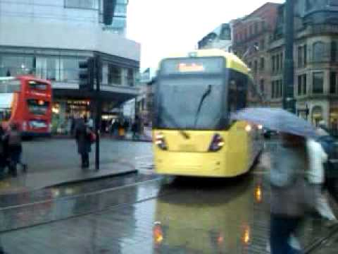 Manchester's new Metrolink trams enter service