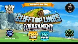 Golf Clash - Clifftop Links Tournament Expert & Pro Opening Round